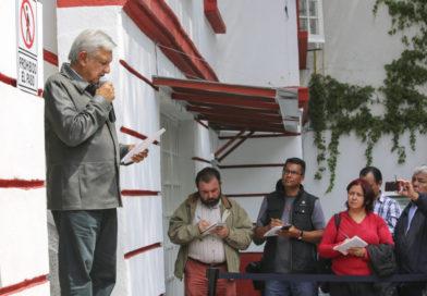 Anuncia AMLO que el próximo 7 de agosto inician los foros de consulta para la reconciliación y la paz en México