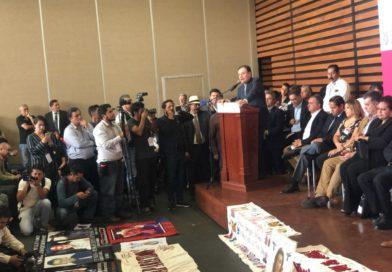 Propone Durazo ir por un camino del todo nuevo para darle a México la paz y la seguridad perdidas