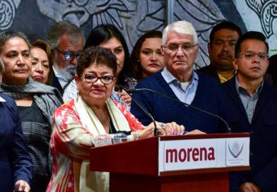 Presentan diputados electos de Morena su agenda legislativa para el primer Congreso de la Ciudad de México