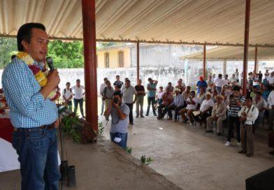 Cuitláhuac García anuncia creación de empleos con plan de reforestación