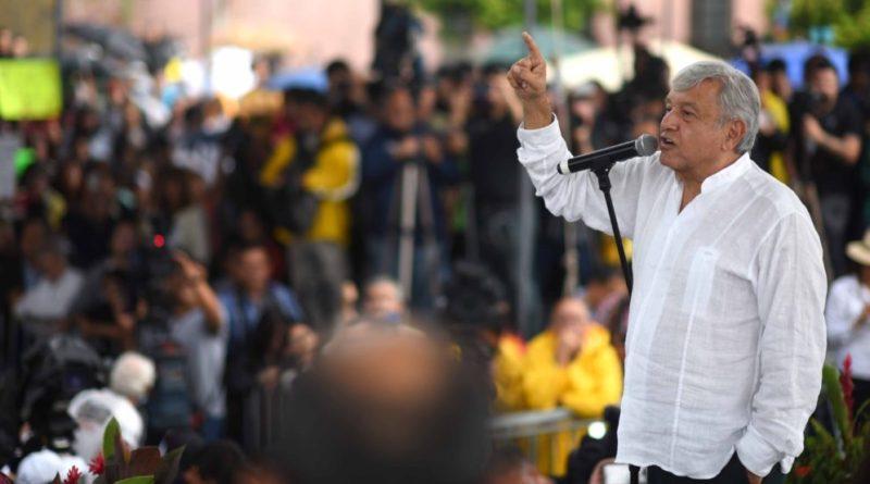 Por mandato del pueblo soy presidente electo de los Estados Unidos Mexicanos, dice AMLO en gira de agradecimiento por Guadalajara