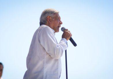 Habrá democracia sindical para los trabajadores mineros, anuncia AMLO