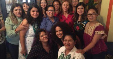 Se reúnen Tatiana Clouthier y Merary Villegas con mujeres activistas, defensoras de Derechos Humanos y de las mujeres de Sinaloa