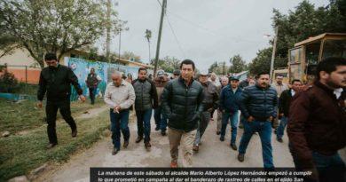 Matamoros: Se empieza a cumplir lo que Alcalde Mario López prometió en campaña