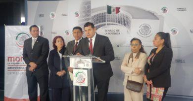 El Grupo Parlamentario de Morena propicia el diálogo abierto con banqueros