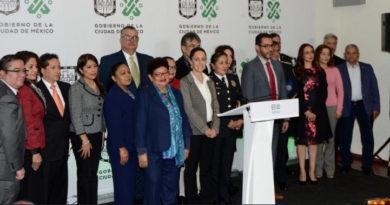 Nuevo gabinete del Gobierno de la Ciudad de México presenta sus declaraciones 3de3