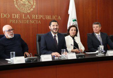 Refrenda Martí Batres compromiso del Senado con la pluralidad y la libertad de expresión