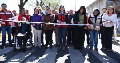 Puebla: Entrega Claudia Rivera Vivanco rehabilitación de la Avenida 15 de Mayo