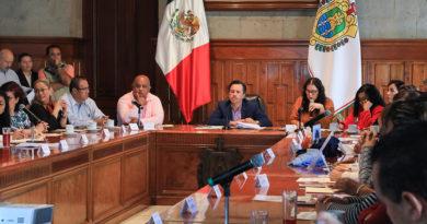 Veracruz: Continúan trabajos entre Gobernador y colectivos de familiares de desaparecidos