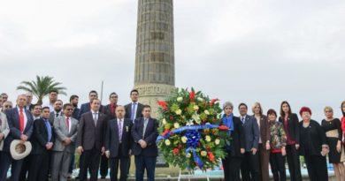 Nuevo Laredo: Conmemoran 213 aniversario del natalicio de Benito Juárez