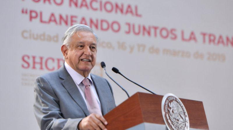Presidente declara inicio de un cambio de régimen en el país y fin de la política neoliberal