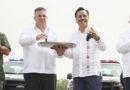 Veracruz: Entrega Gobernador 160 patrullas para reforzar la seguridad; se invirtieron más de 208 mdp