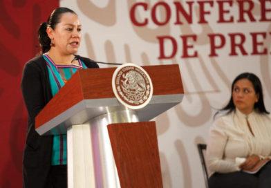 Se generan empleos y Bienestar para evitar migración de jóvenes: Luisa Albores