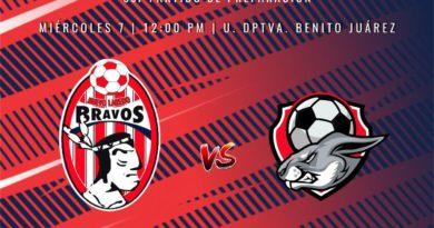 Bravos de Nuevo Laredo recibirá a Frontera FC en Pretemporada