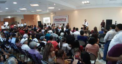 Se reúnen militantes de Morena Nuevo Laredo en Evento de Unidad