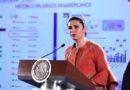 Ana Guevara celebra con AMLO histórico papel en Lima 2019