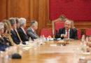 Presidente recibe a empresarios de Sonora en Palacio Nacional