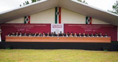 Presidente anuncia inicio de construcción de aeropuerto en Santa Lucía