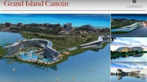 AMLO anuncia Grand Island Cancún, la inversión en turismo más grande en 30 años