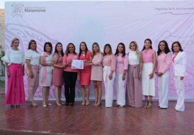 """Presentan regidoras del R. Ayuntamiento de Matamoros conferencia """"Vive y Cuida de ti"""""""